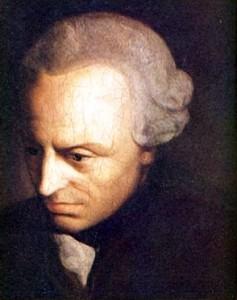 Retrato de Inmanuel Kant (1724-1804)