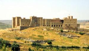 Castillo medieval del siglo XII, actualmente Parador de Sigüenza (Guadalajara).