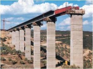 Puente construido por empuje