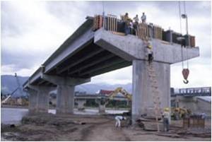 Puente de vigas prefabricadas