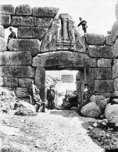 Puerta de Los Leones (1885)