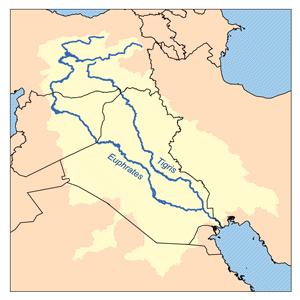 Entre los ríos Tigris y Éufrates
