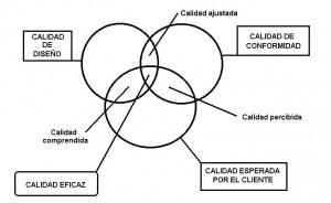 Calidad de diseño, de conformidad y esperada por el cliente (Yepes, 2003)