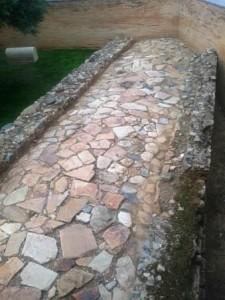 Vía romana a su paso por Mérida. V. Yepes.