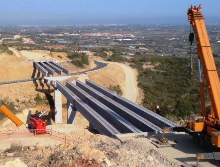 puente CV-13 construcción