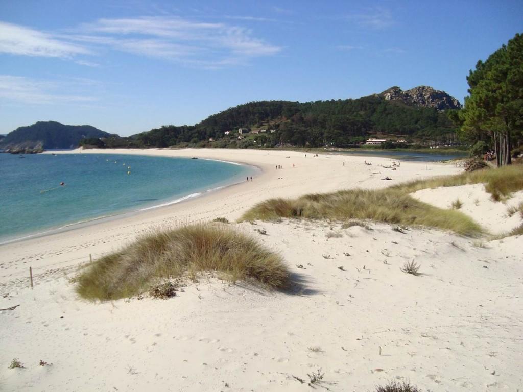 Islas Cíes (Rías Bajas, Vigo). Imagen de V. Yepes