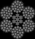 6 x 25 [1+(6+6)+12] + (7 x 7 +0) Relleno