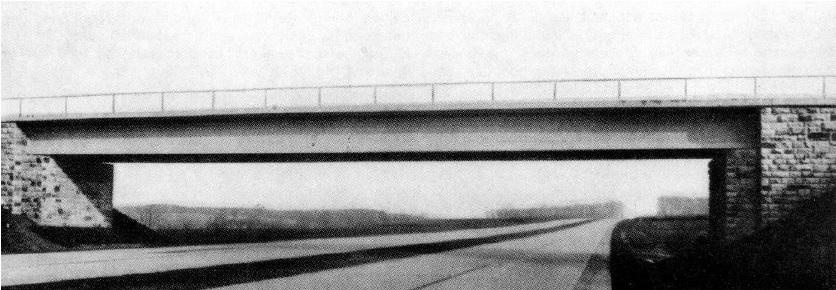 Puente de hormigón pretensado en Oelde. 1938