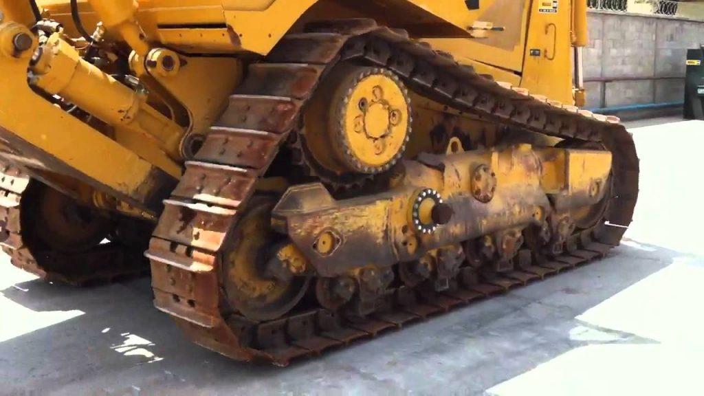 Tren de rodaje flexible en bulldozer