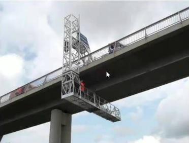 Inspección especial del Viaducto sobre el río Voltoya