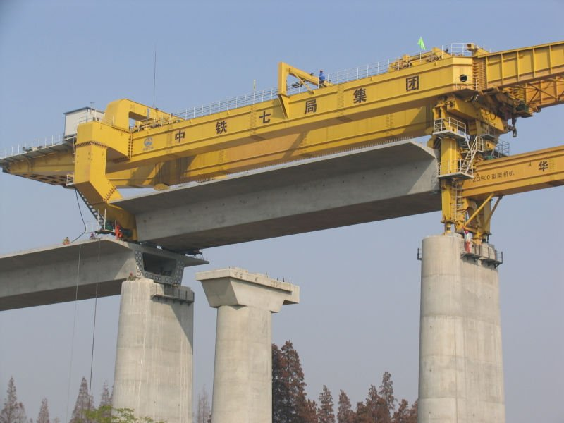 900t_bridge_girder_launching_gantry_for_high_speed_railway